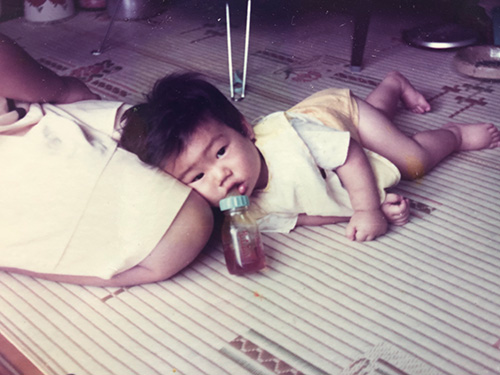 伊藤大輔 幼少期の写真
